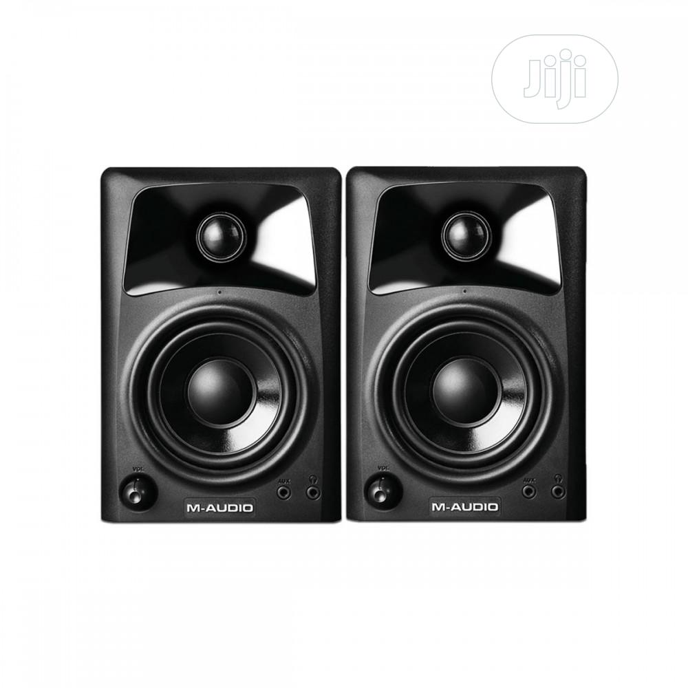 M-Audio AV32   Compact Active Desktop Reference Studio Monitor Speaker