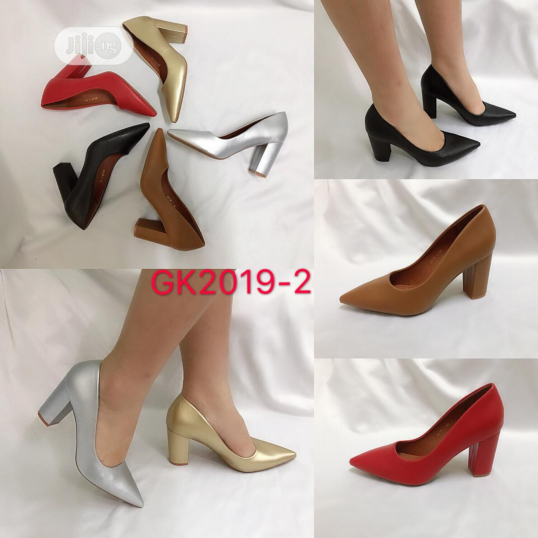 Archive: Block Heel Covered Shoe for Ladies/Women Available