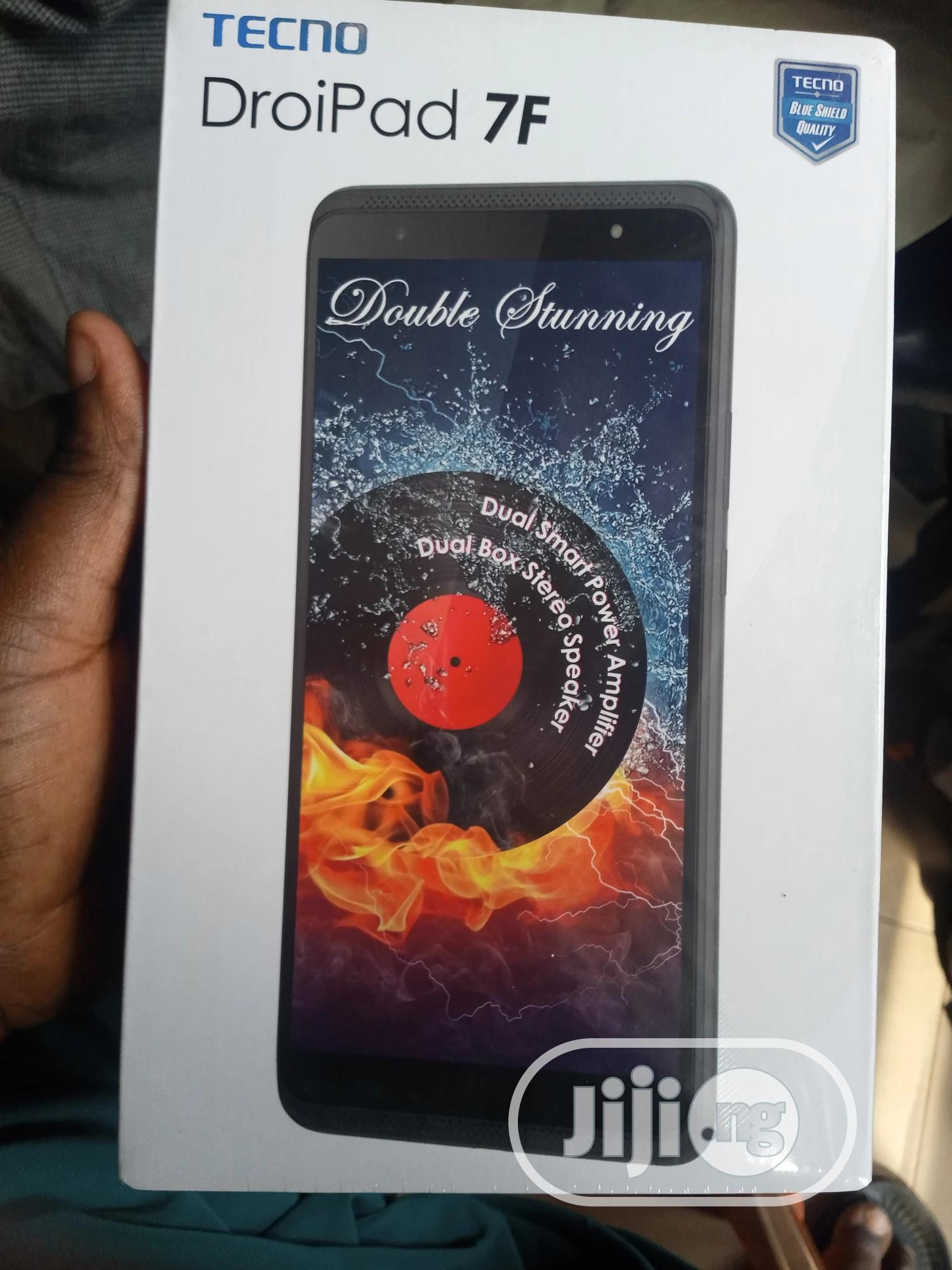 New Tecno DroiPad 7D 16 GB Black