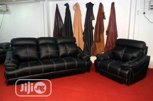 High Quality Leather Parlour   Furniture for sale in Lagos State, Ikeja