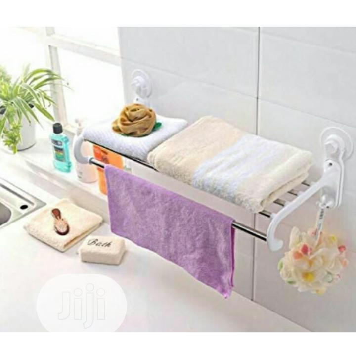 Bathroom Towel Hanger With Rails