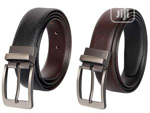 Black Brown Reversible Double-Sided Belt for Men3000 | Clothing Accessories for sale in Lagos State, Ikorodu