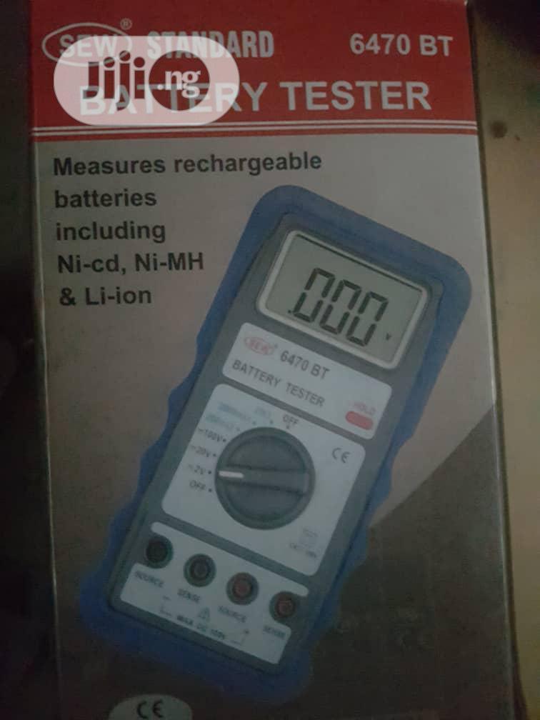 Sew Standard Model 6470BT Digital Battery Tester