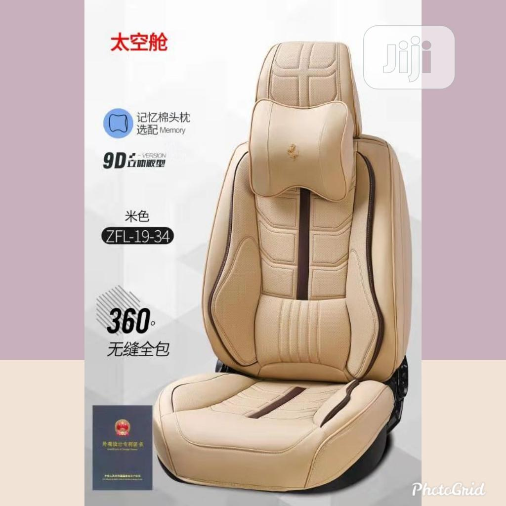 Luxury 9D Leather Seat Cover