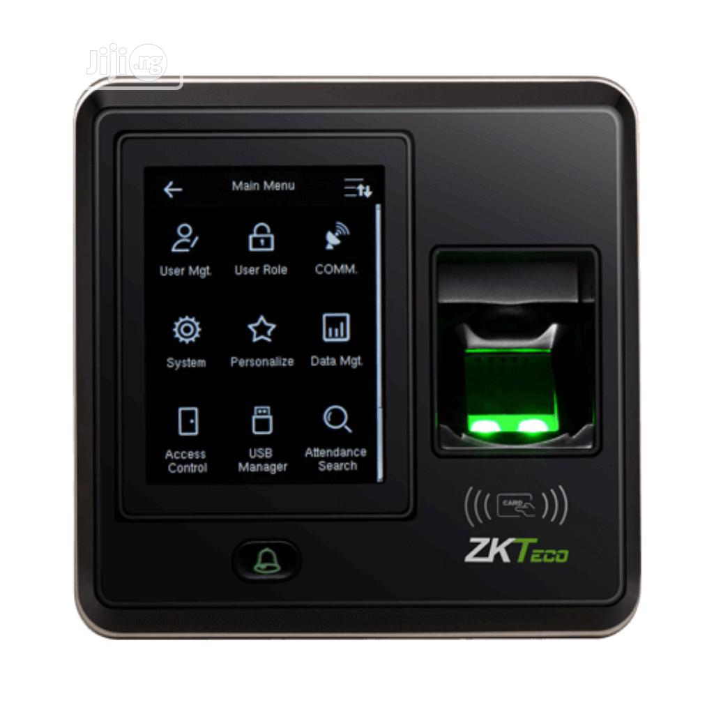 Zkteco SF300 IP Based Fingerprint Access Control And Time Attendance