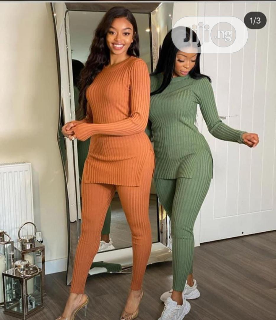 Female Longsleeve Top And Trouser
