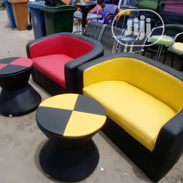 3 In 1 Sofa Chairs With Small Round Table
