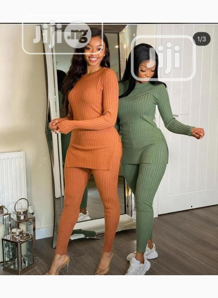 Female Longsleeve Top And Trouser   Clothing for sale in Ikeja, Lagos State, Nigeria