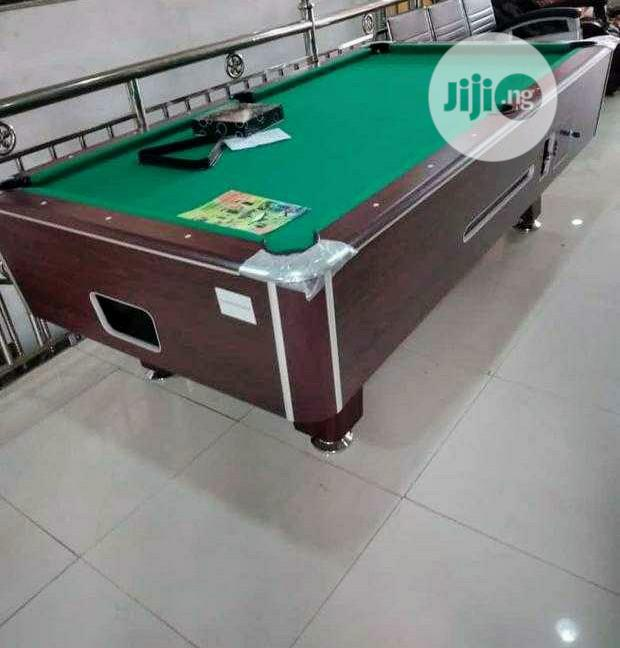 American Premium Quality Coin Operated Marble Snooker Table