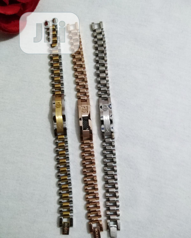 Archive: Steel Rolex Bracelets