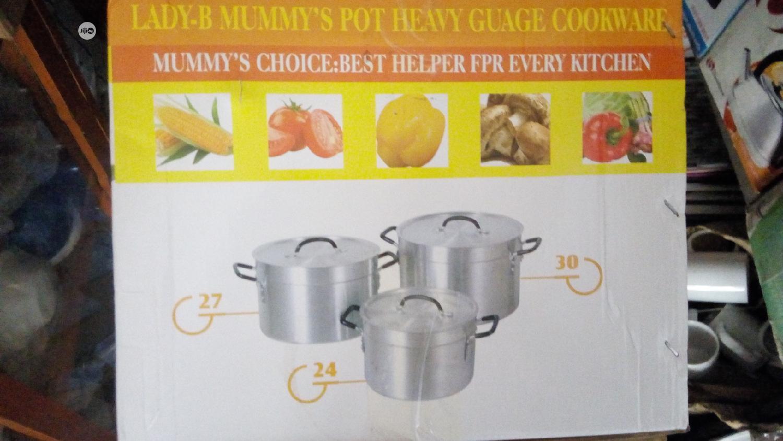 Archive: 3 Set Cooking Pot