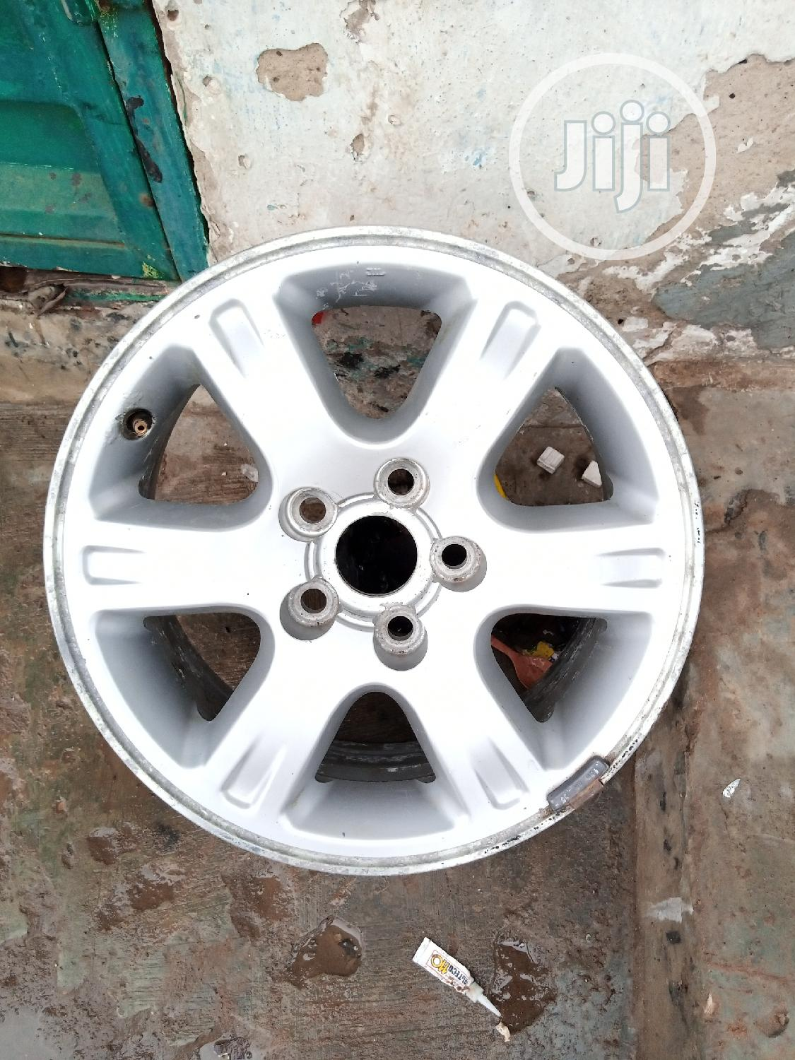Tokunbo Alloy Rims | Vehicle Parts & Accessories for sale in Ikeja, Lagos State, Nigeria