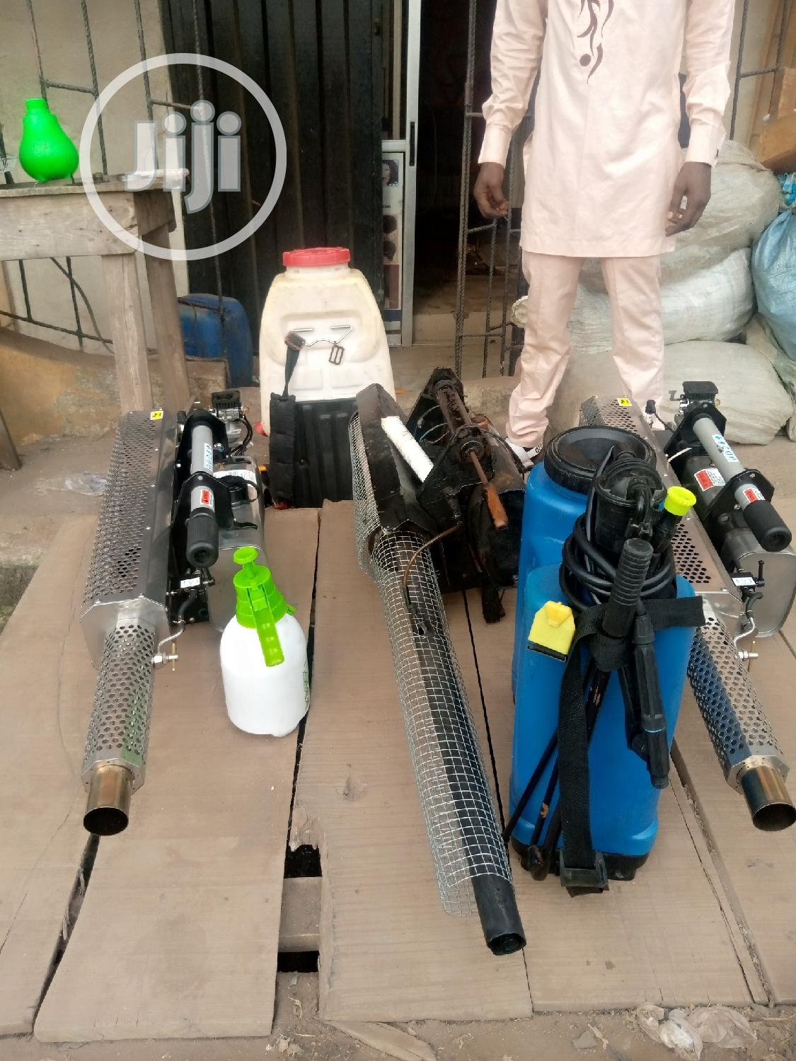 Fumigation Machine Available   Cleaning Services for sale in Gbagada, Lagos State, Nigeria