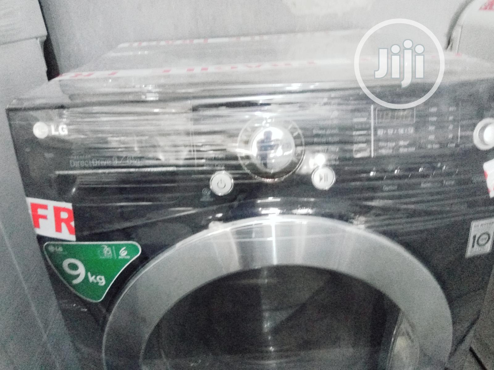 Inverter Drive LG 9kg Washing Machine Washer Dryer | Home Appliances for sale in Yaba, Lagos State, Nigeria