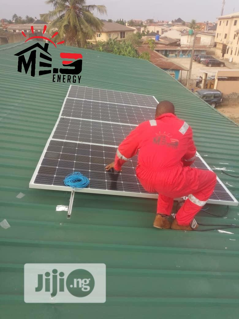 1.5kva Solar System With 24hrs Uninterrupted Power Supply.