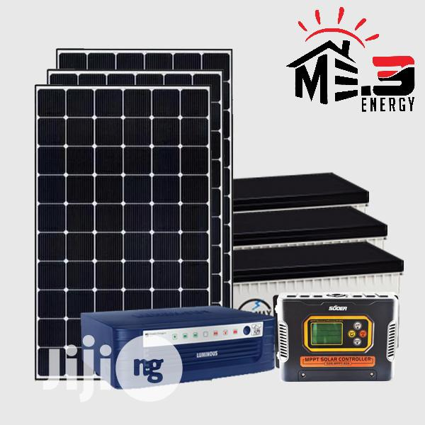1.5kva Complete Rugged Solar System 24hrs Uninterrupted Electricity