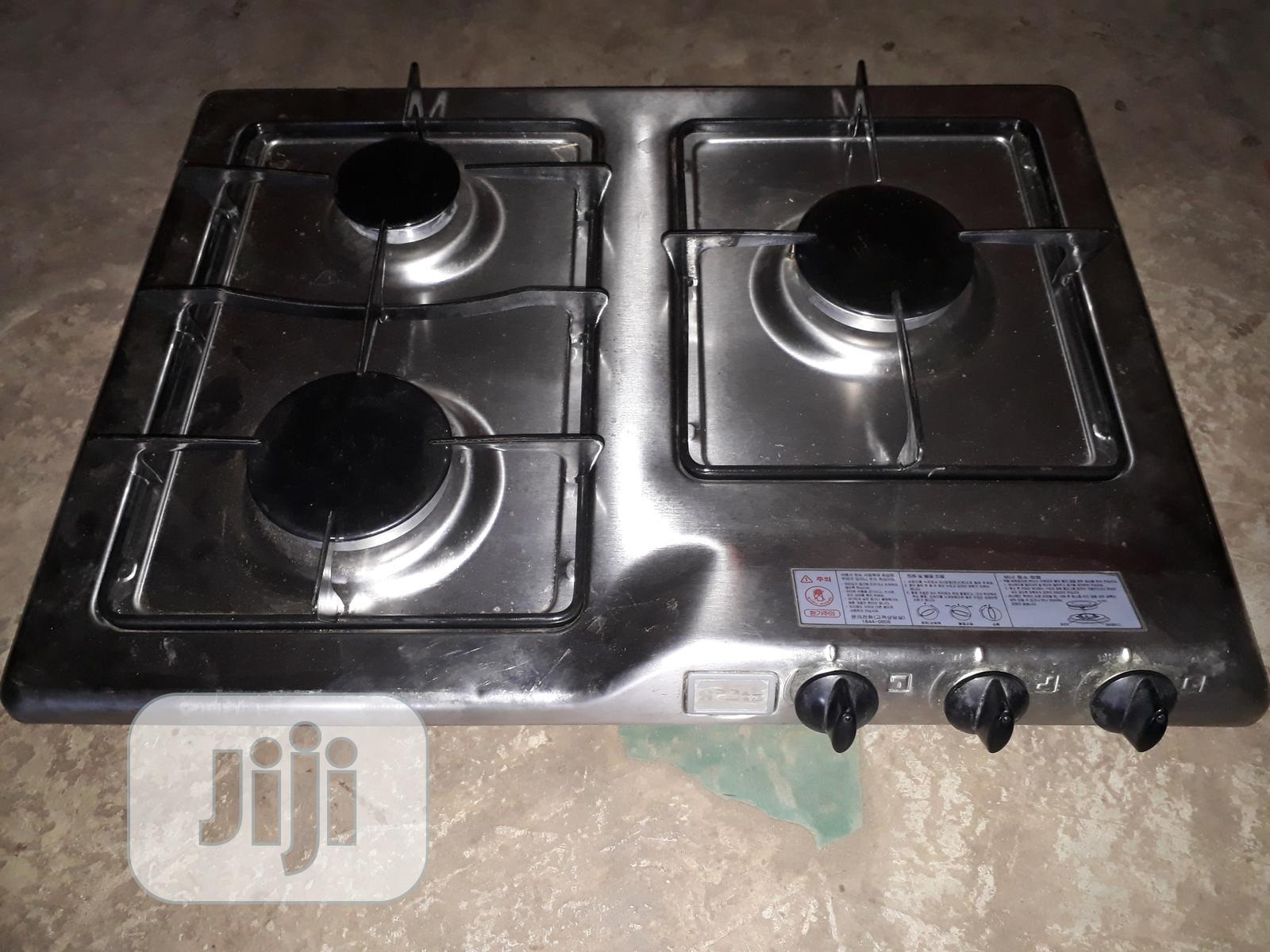 3 Burner Table Gas Cooker