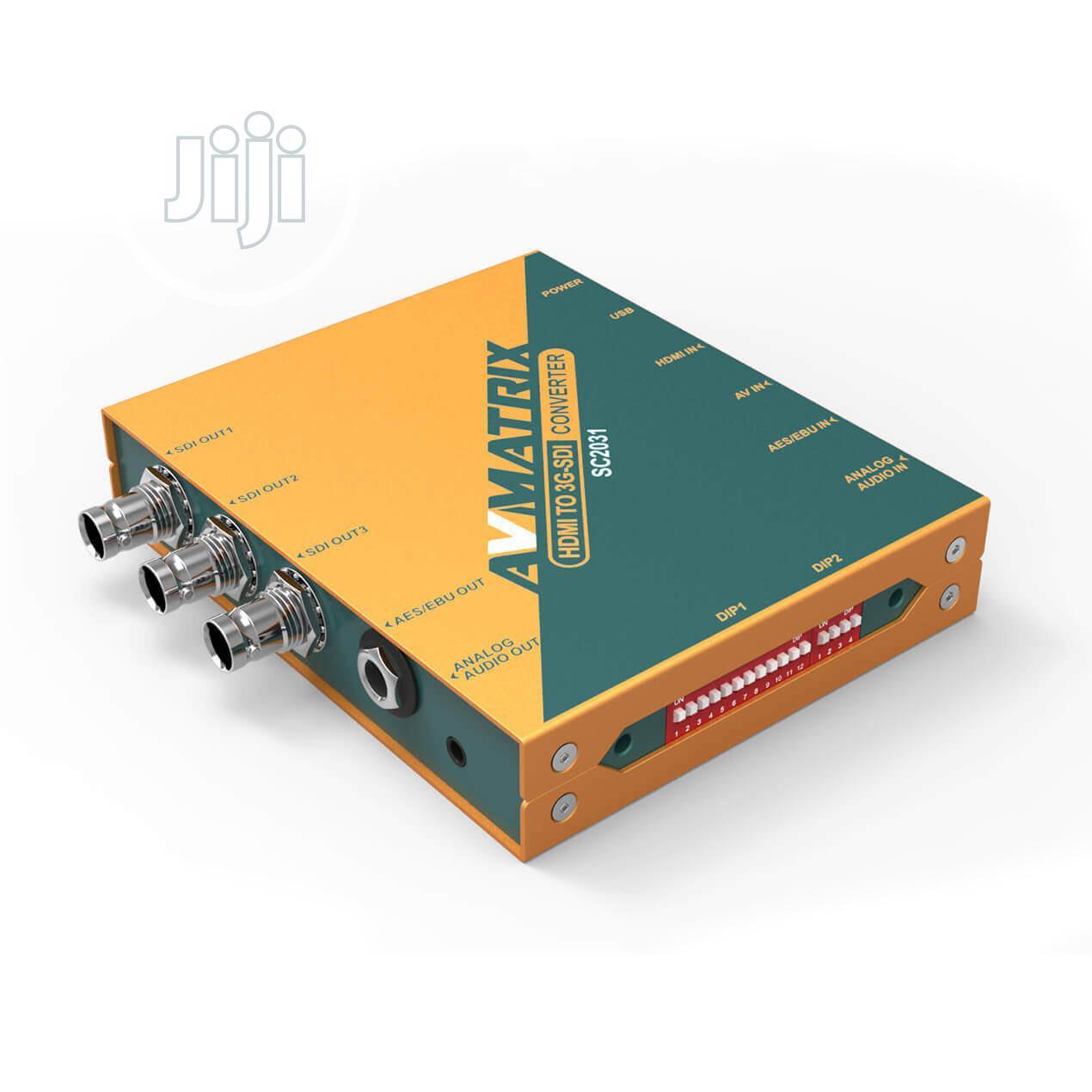 Archive: HDMI / AV To 3G-SDI Scaling Converter