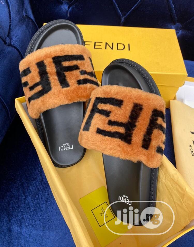 FENDI Fur Slippers in Lagos Island (Eko