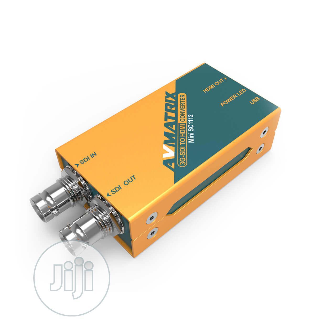 Archive: 3G-SDI To HDMI Mini Converter