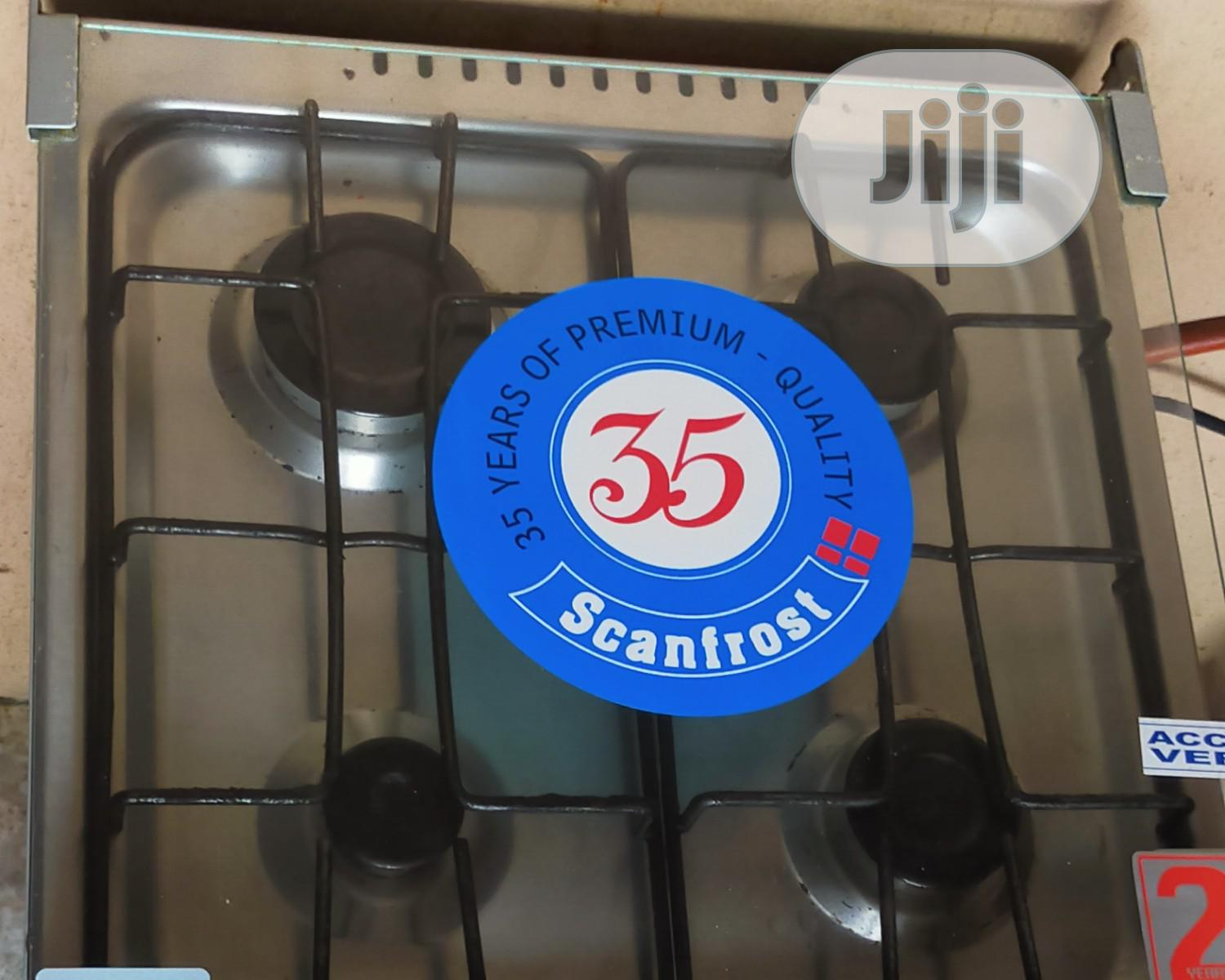 Archive: Scanfrost Gas Cooker