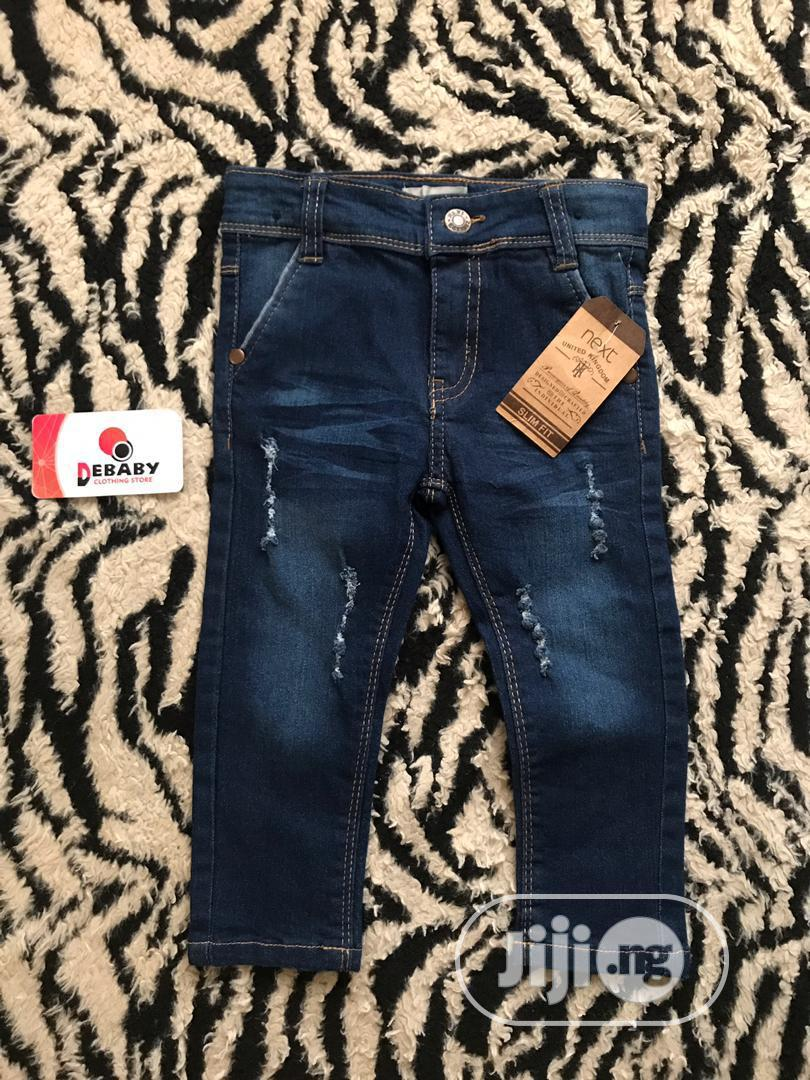 Levi's Boys' Slim Fit Performance Jeans   Children's Clothing for sale in Surulere, Lagos State, Nigeria