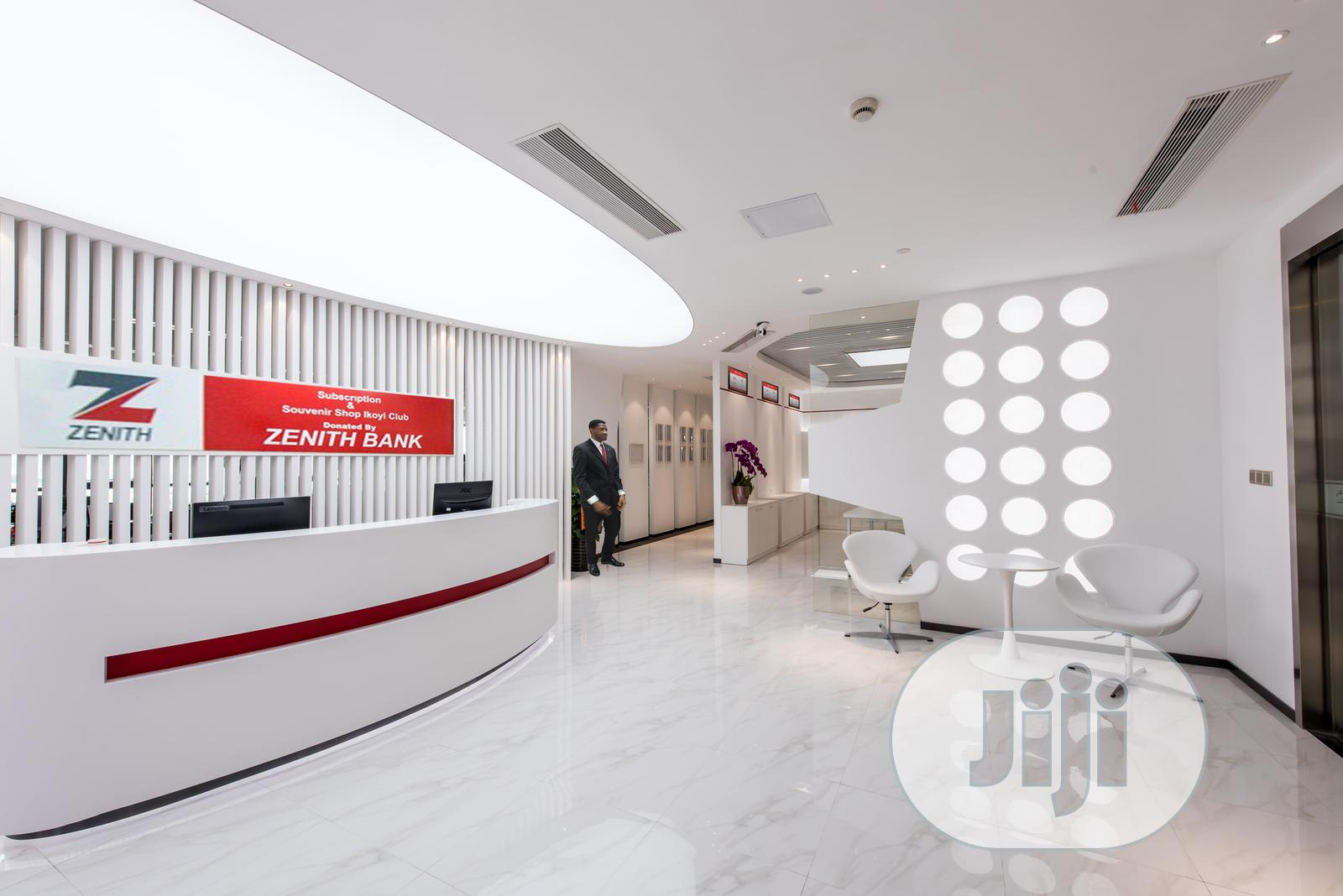 Archive: Interior Decoration Design and Building for Bank