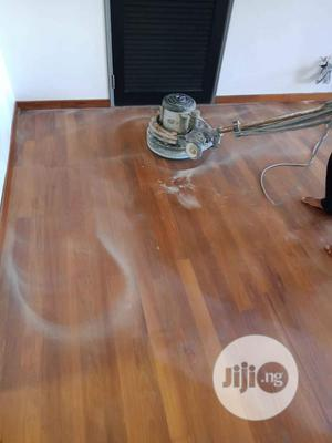 Wooden Floor Granding And Polishing | Cleaning Services for sale in Lagos State, Ifako-Ijaiye
