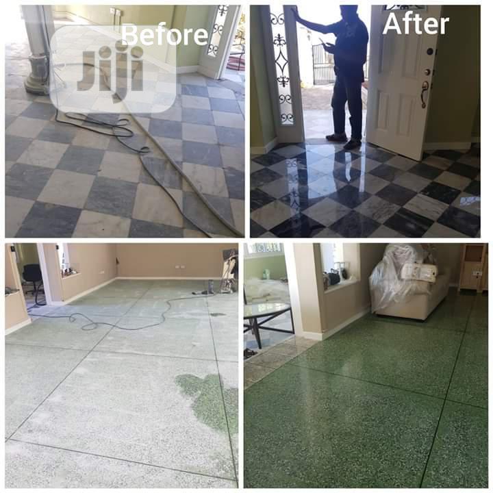 Greenway Terrazzo Restoration And Polishing