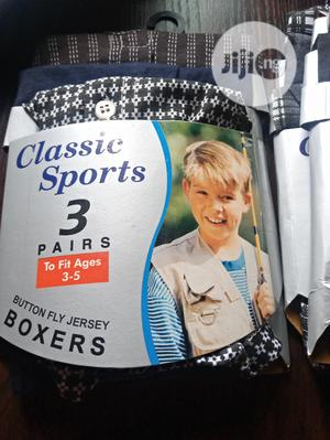 Classic Sports 3 Pairs Boys' Boxers | Children's Clothing for sale in Oyo State, Ibadan
