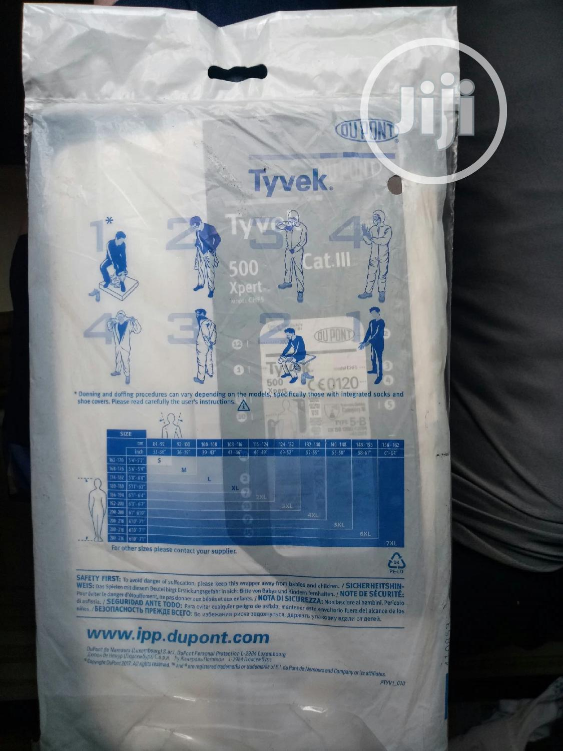 Tyvek Reusable Surgical Coverall