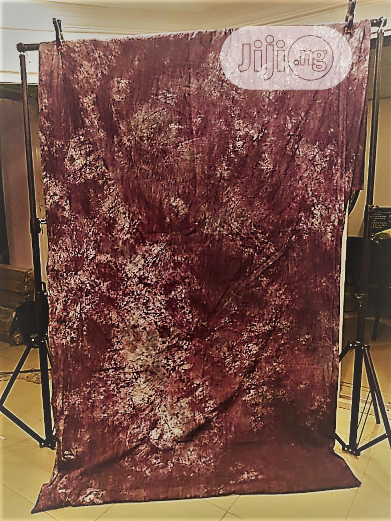 Studio Background Cloth With Pattern 10ft X 20ft