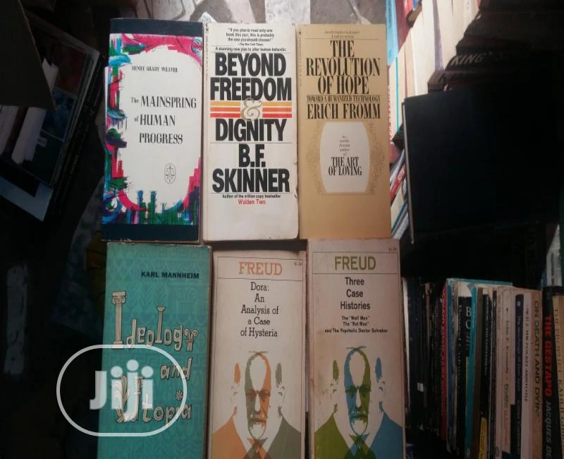 Sigmund Freud And Other Psychology Books
