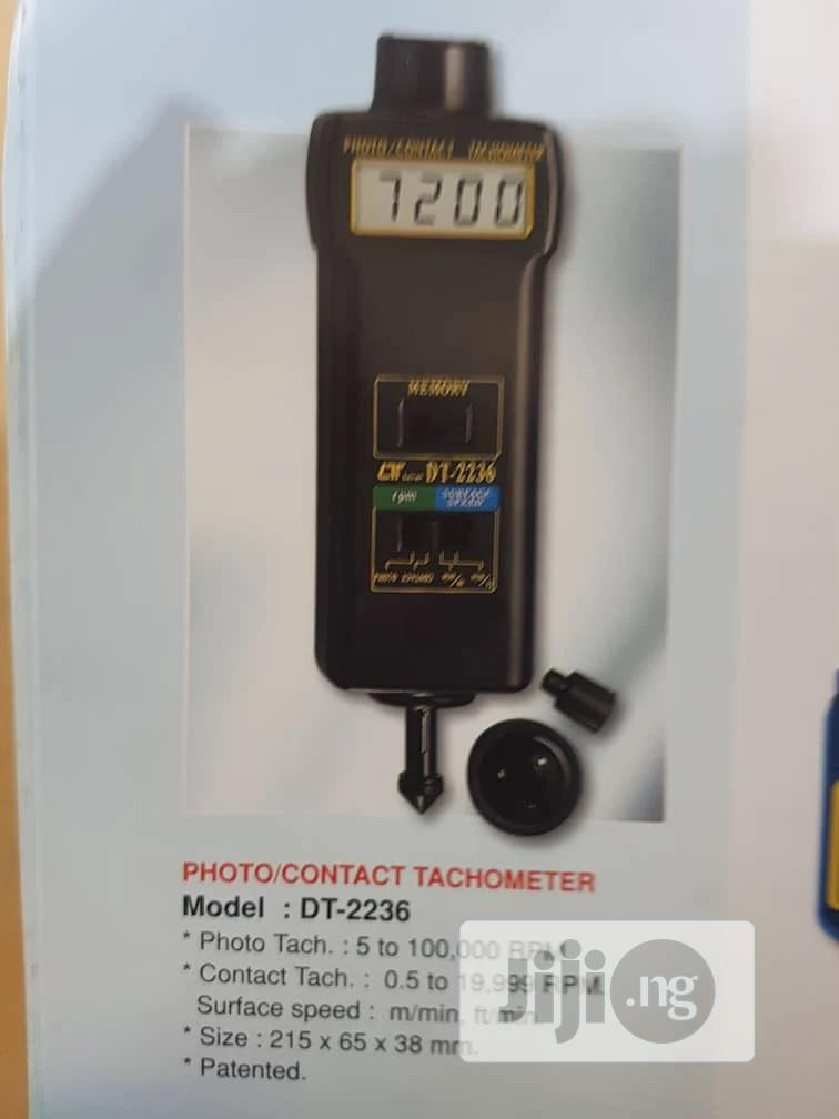 Luthron DT - 2236 Digital Photo/Contact Tachometer With Best Measuring