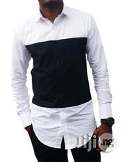 ADOT Black And White Casual Shirt | Clothing for sale in Lagos State, Shomolu
