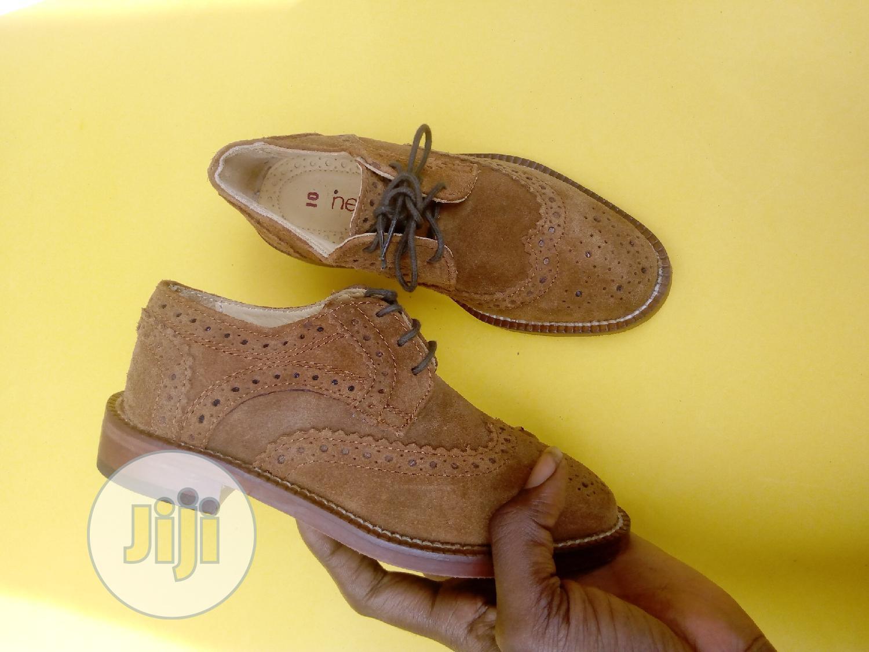Brown Boys Bough Shoes