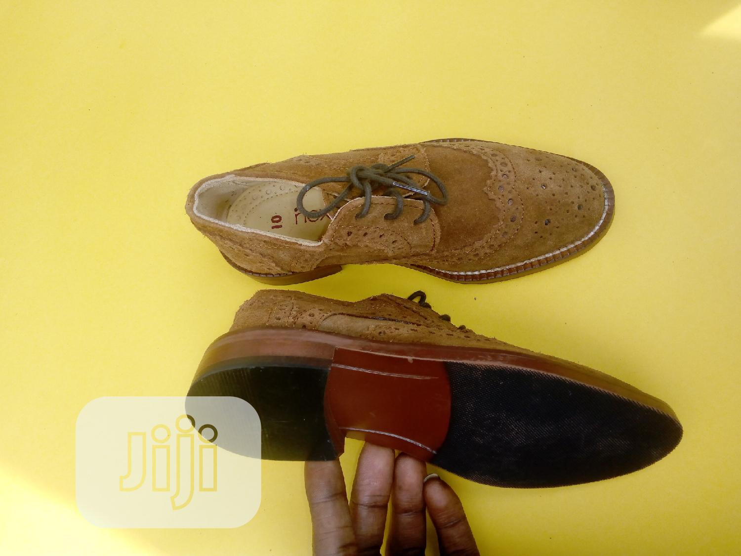 Brown Boys Bough Shoes   Children's Shoes for sale in Ifako-Ijaiye, Lagos State, Nigeria