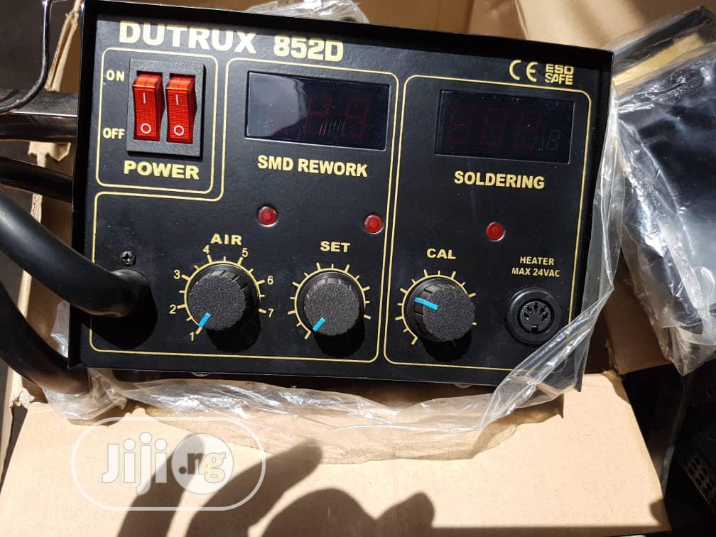 Dutrux Digital Desoldering And Soldering Station