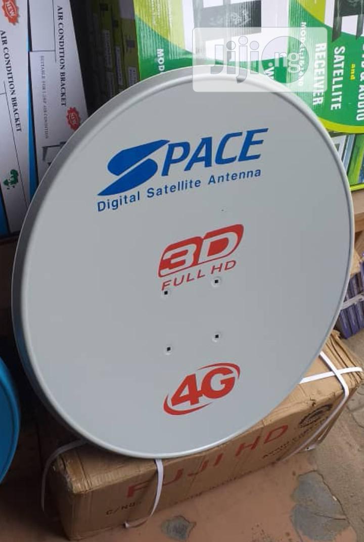 Original Digital Satellite Antenna Dish Space 3D 4G