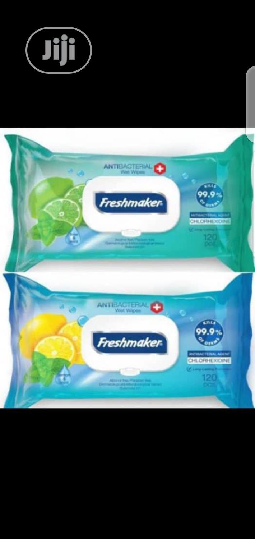 Freshmaker 99.9% Antibacterial Wet Wipes , MADE IN TURKEY.