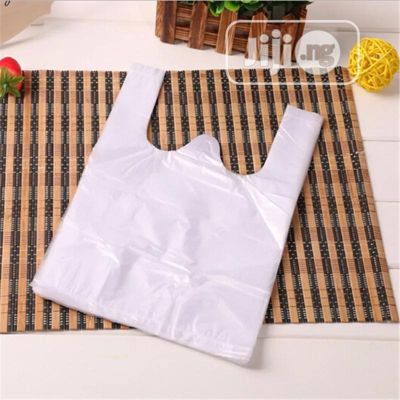 Archive: 1000pcs Transparent Shopping Bag Supermarket Plastic Bags