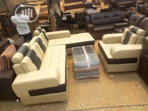 New Set of L-Shaped Sofa With Center Table | Furniture for sale in Lagos State, Ajah