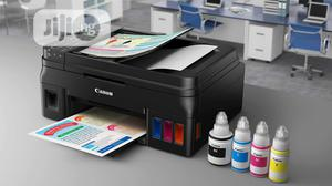 Canon Pixma G4400 Multifunction Printer ADF+ Wireless   Printers & Scanners for sale in Lagos State, Ikeja