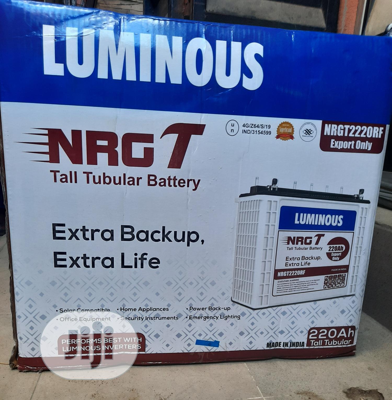 Luminous Battery Tubular 12v/220ah