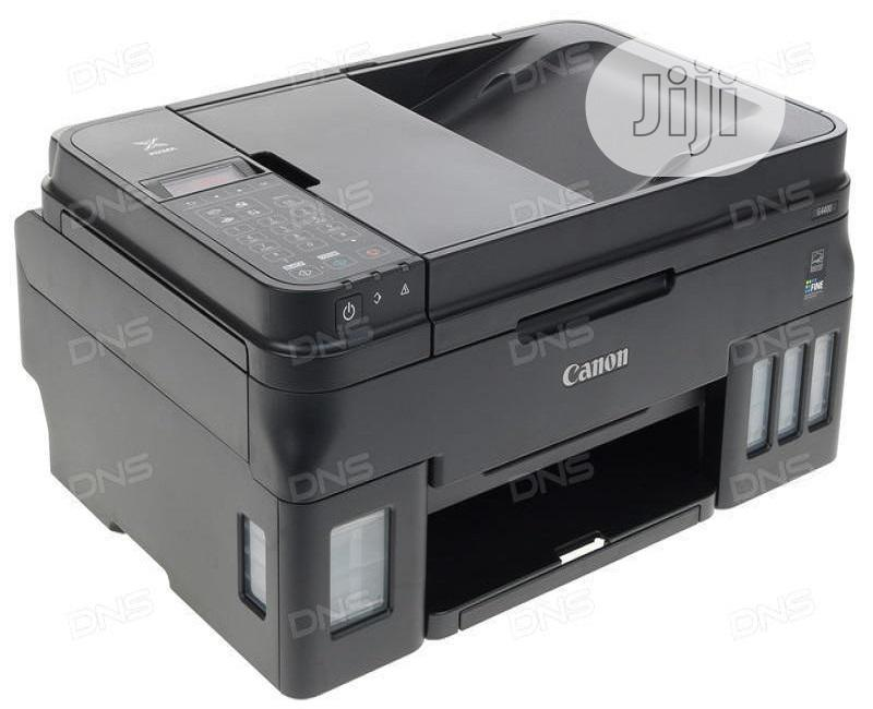 Canon Pixma G4400 Multifunction Printer ADF+ Wireless   Printers & Scanners for sale in Ikeja, Lagos State, Nigeria