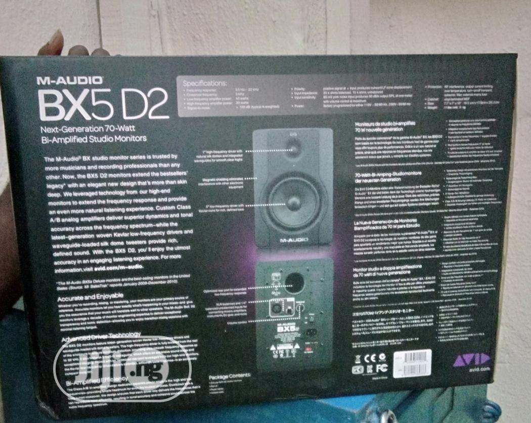 M-Audio Monitor Bx5-D2 | Audio & Music Equipment for sale in Ojo, Lagos State, Nigeria