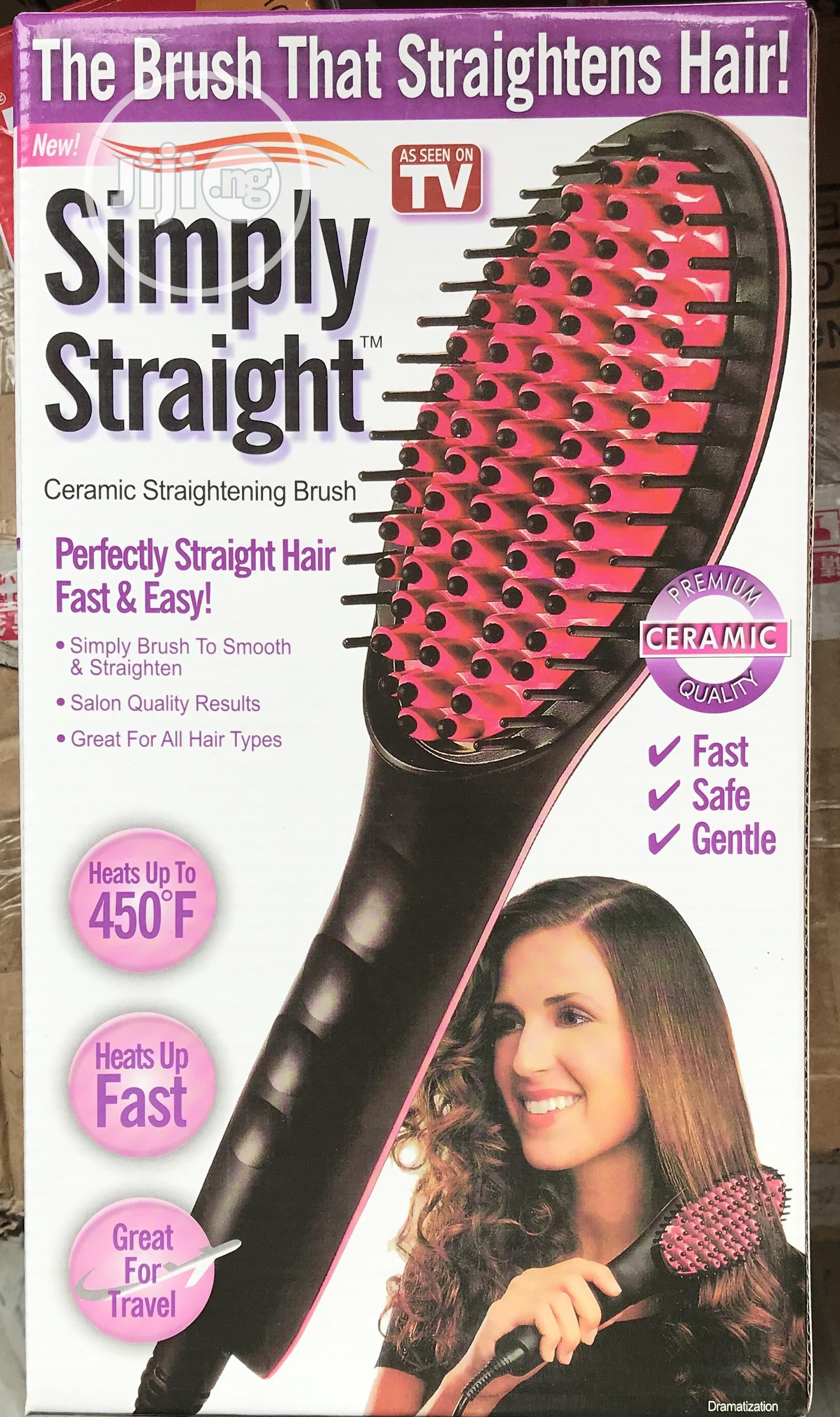 Simply Straight Simply Straight Ceramic Hair Straightening Brush