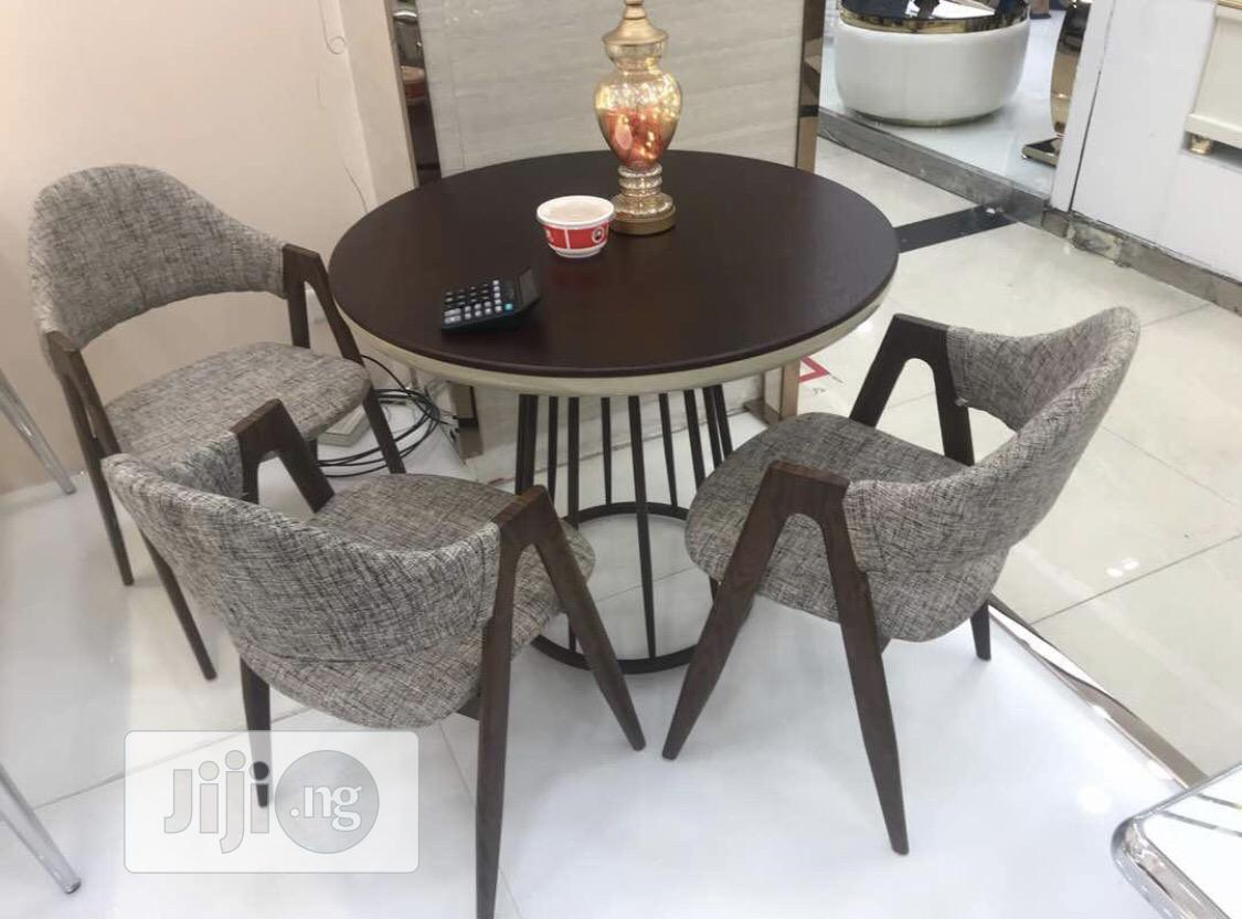 Classic Dining Table With 3chairs