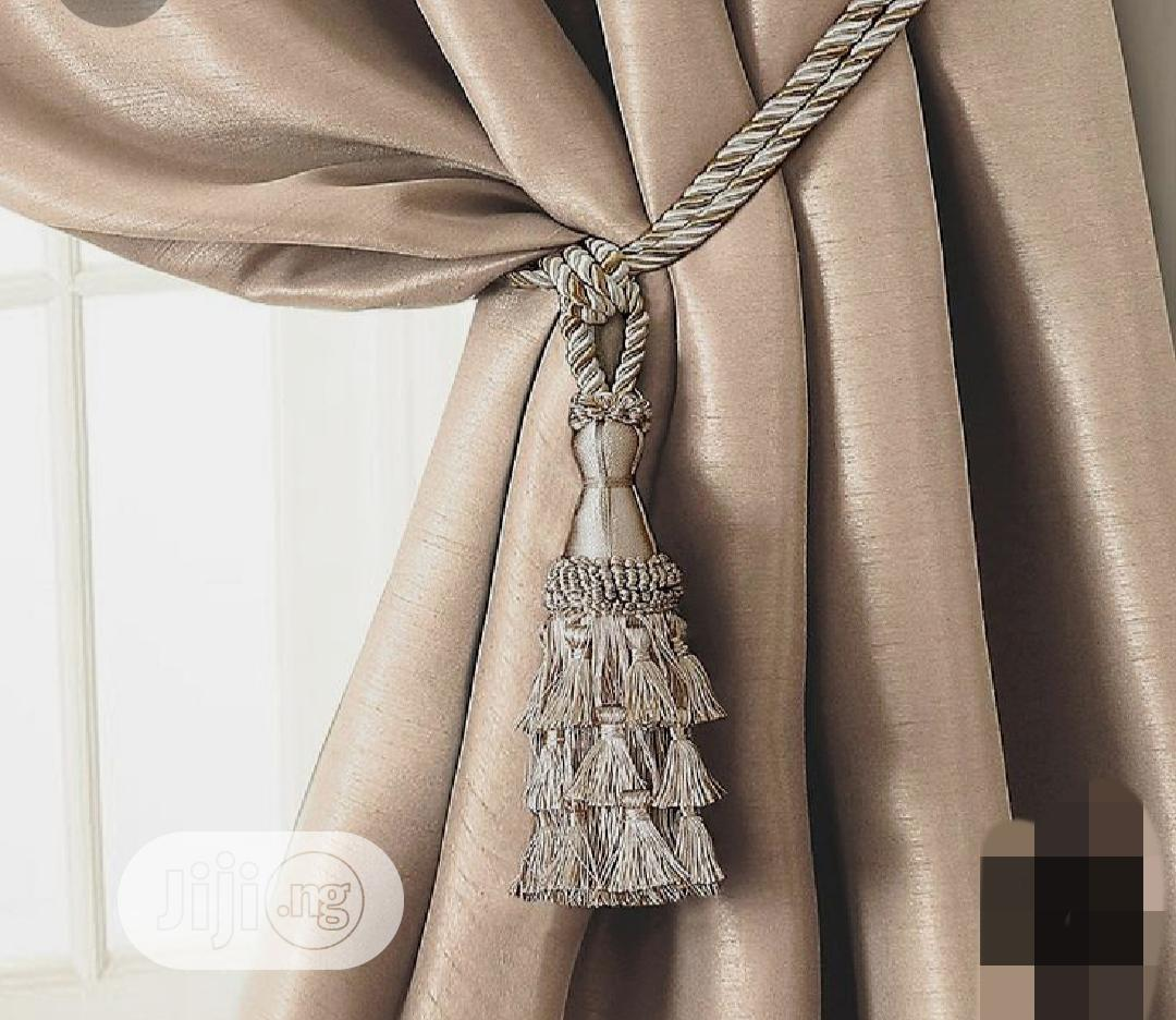 Charlotte Tassel Window Curtain Tie Back