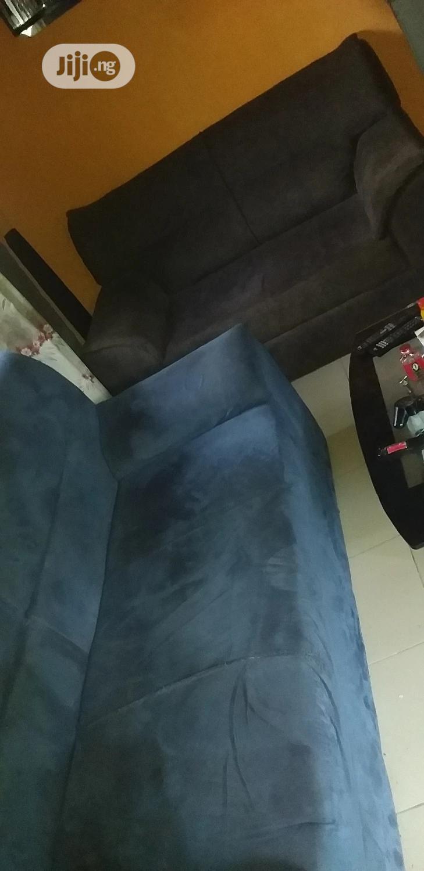 2 And 3 Seater Swede Chairs | Furniture for sale in Enugu, Enugu State, Nigeria